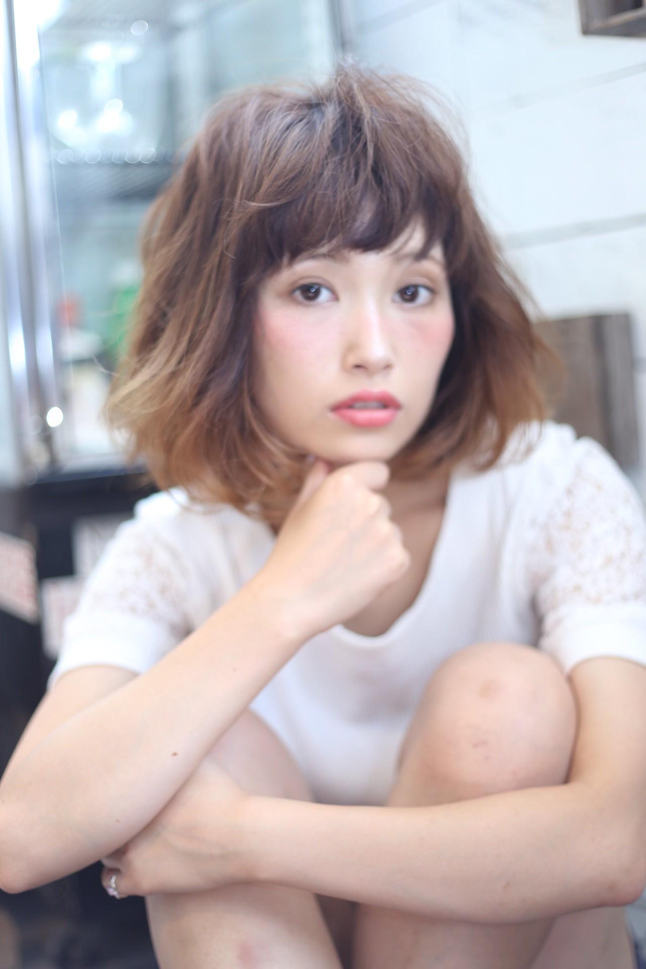 【Яе】takahashi グラデーションボブ